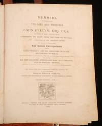 Memoirs Illustrative of the Life and Writings of John Evelyn, Esq. F.R.S.Comprising His Diary, from the Year 1641 to 1705-6, and a selection of his Familiar Letters. In Two Volumes by William Bray - 1819 - from Rooke Books and Biblio.com