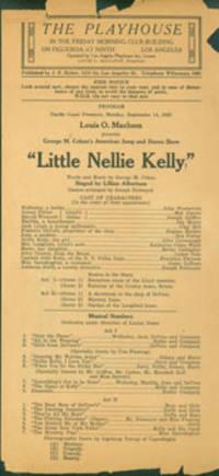 Little Nellie Kelly, September 14, 1925.
