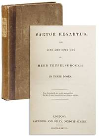 Image Of Sartor Resartus The Life And Opinions Herr Teufelsdrockh
