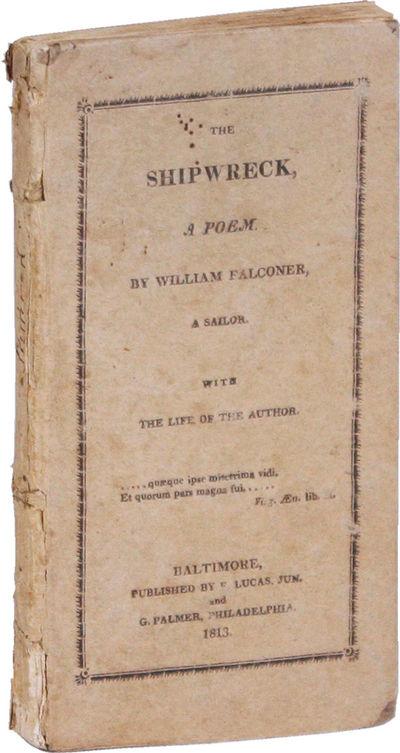 Philadelphia: T. & G. Palmer, 1813. 16mo (14cm). Original printed paper-covered boards; i-iv,-94pp; ...