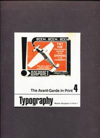 Typography.  The Avant-Garde In Print Vol. 4