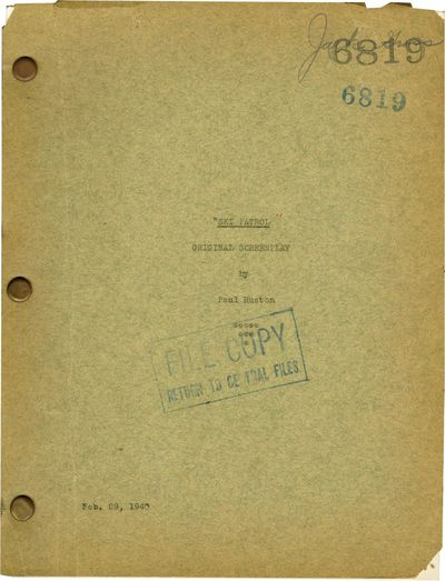 Universal City, CA: Universal Pictures, 1940. Draft script for the 1940 film. In 1939, a Finnish res...