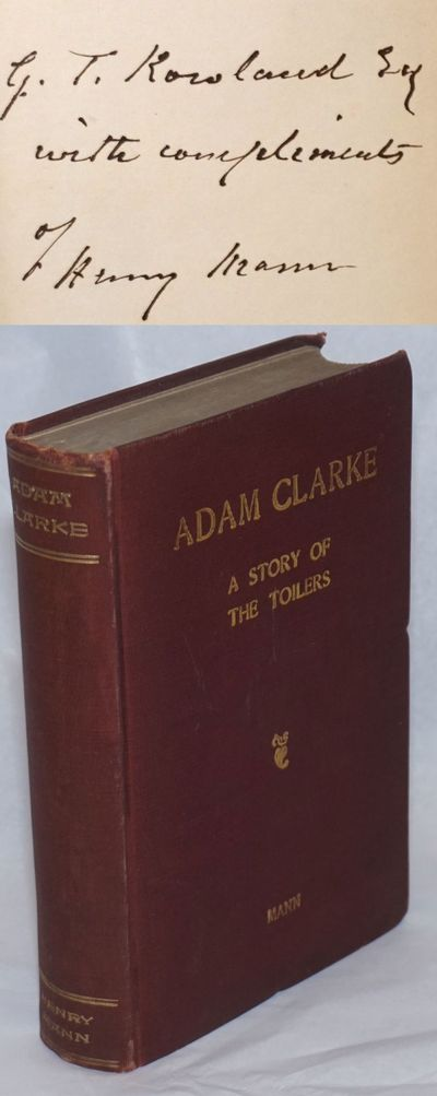 New York: Popular Book Company, 1904. Hardcover. ix, 280p., front hinge starting, corners bumped els...