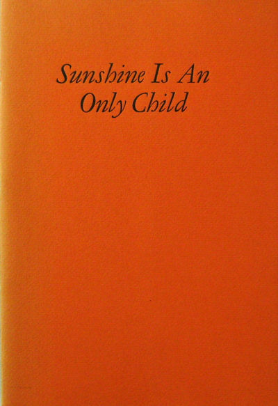 New York: Aloe Editions, 1973. First edition. Paperback. Near Fine. Large paper 8vo. A fine press ch...