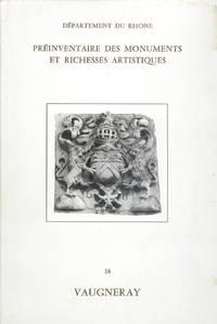 VAUGNERAY - Préinventaire des monuments et richesses artistiques n°16
