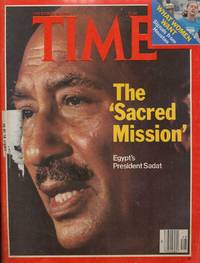 Time Magazine November 28 1977: the Sacred Mission Egypt's President Sadat