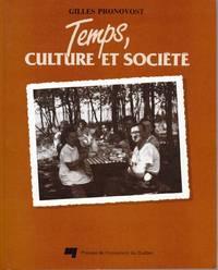 Temps, culture et société.  Essai sur le processus de formation du loisir et des sciences du loisir dans les sociétés occidentales