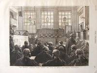 The Central Criminal Court During the Trial of Henry and Thomas Wainwright