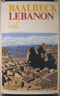 Baalbeck Lebanon. monumental stairway of the temple of jupiter