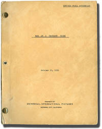 Man of a Thousand Faces (Original screenplay for the 1957 film, with illustrated program and promotional still)