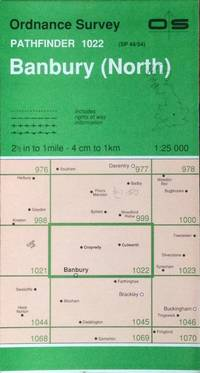 Banbury (North) Pathfinder map sheet 1022
