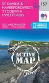 St Davids & Haverfordwest (OS Landranger Active Map)