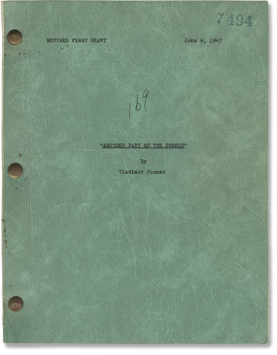 Universal City: Universal International Pictures, 1947. Revised First Draft script for the 1948 film...