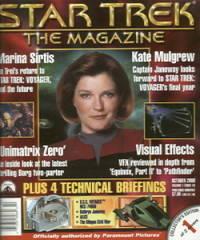 STAR TREK THE MAGAZINE OCTOBER 2000