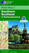 image of Southern Scotland and Northumberland (Road Map)