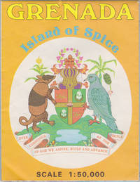 image of Grenada, Island of Spice (map), Scale 1:50,000 (DOS, 442)
