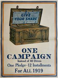 Give Your Share: One Campaign Instead of 60 Drives; One Pledge - 12 Installments For All 1919