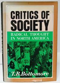 image of Critics of Society radical thought in North America