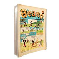 The Beano Comic 1969 Complete Year Issues 1381 to 1432