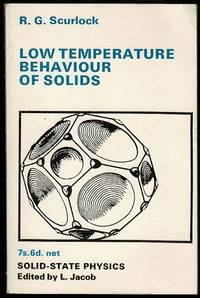 Low Temperature Behaviour of Solids
