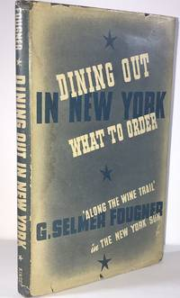 image of Dining Out in New York