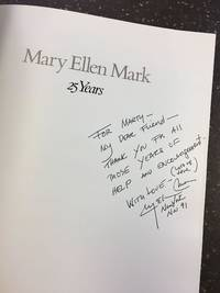 MARY ELLEN MARK - 25 YEARS [SIGNED]