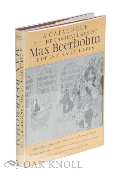 (London): Macmillan, 1972. cloth, dust jacket. Beerbohm, Max. 8vo. cloth, dust jacket. 258 pages. Fi...