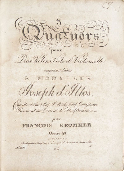 Vienne: Imprimerie chimique , 1813. Folio. Contemporary light tan paper-backed blue marbled boards (...