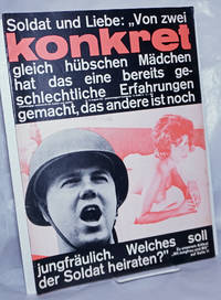 image of Konkret, 1963, Aug, No. 8 Unabhängige Zeitschrift Für Kulture und Politik