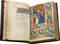 image of Book of Hours (use of Rouen); in Latin and French, illuminated manuscript on parchment