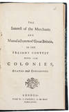 View Image 1 of 2 for The Interest of the Merchants and Manufacturers of Great Britain in the Present Contest with the Col... Inventory #39456