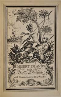 DESERT ISLANDS AND ROBINSON CRUSOE. Limited edition Signed by Walter de la Mare.
