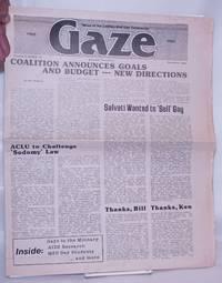 image of Gaze: news of interest to lesbian/gay community; vol. 3, #12, December, 1982: Coalition announces goals_budget