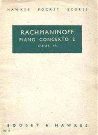 Piano Concerto 2  Opus 18. by Sergei Rachmaninoff - from Music by the Score and Biblio.co.uk