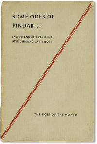 Some Odes of Pindar in New English Versions by Richmond Lattimore [Poet of the Month]