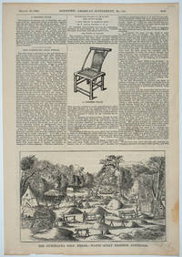 """image of """"The Gumeracha Gold Fields - Watts' Gully Diggings, Australia"""", illustrated article, Scientific American"""