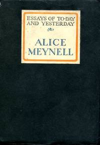image of Essays of To-day and Yesterday