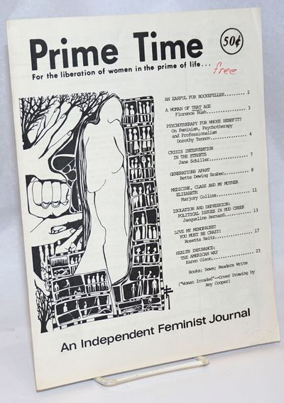 New York: Prime Time, 1976. Magazine. 24p. includes covers, pastebound newsletter, 8.5x11 inches, ar...