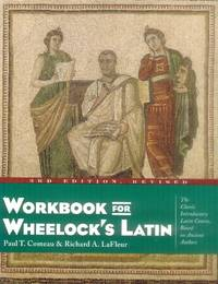 image of Workbook for Wheelock's Latin (3d Edition, Revised)