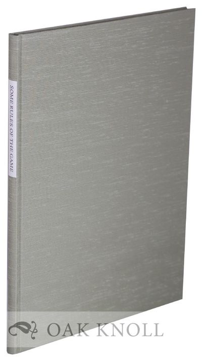 (Cacrrollton, OH): Press on Scroll Road, 2004. green cloth, paper title label on spine (bound by Pri...