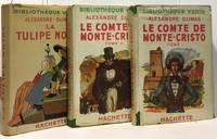 image of Le comte de Monte-Christo (2 volumes) + La tulipe noire --- 2 romans