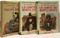 Le comte de Monte-Christo (2 volumes) + La tulipe noire --- 2 romans by Dumas Alexandre - 1947 - from crealivres and Biblio.com