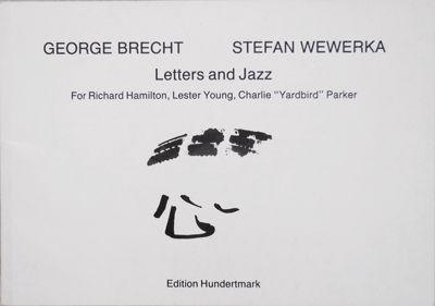 Koln: Edition Hundertmark, 1983. First edition. Paperback. Near Fine. Small oblong paperbound artist...