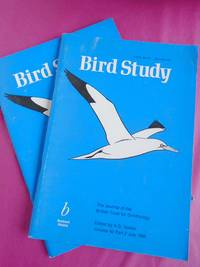 Bird Study The Journal of the British Trust for Ornithology Volume 42 Parts 1 - 2  March 1995,  July 1995