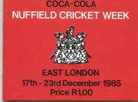 The Forty Third Nuffield Cricket Week, 17-23 December, 1985