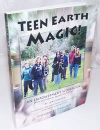 image of Teen earth magic, an empowerment workbook, from California's pagan youth camp. Co-created by teen earth magic campers_teacher in the reclaiming tradition.  Forweword by Starhawk