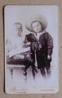 Carte De Visite Photograph. Portrait of Two Young Children.