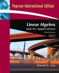 image of Linear Algebra and Its Applications with CD-ROM, Update: International Edition