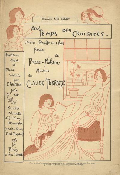 Paris: Société Nouvelle d'Éditions Musicales (Ancien fonds Paul Dupont) , 1901. Large octavo. Ori...