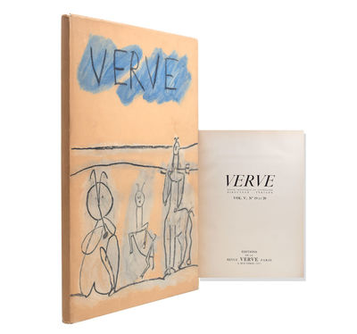 Paris: Verve, 1948. First edition. 18 tipped-in full-colour plates and 21 black and white plates. Pr...